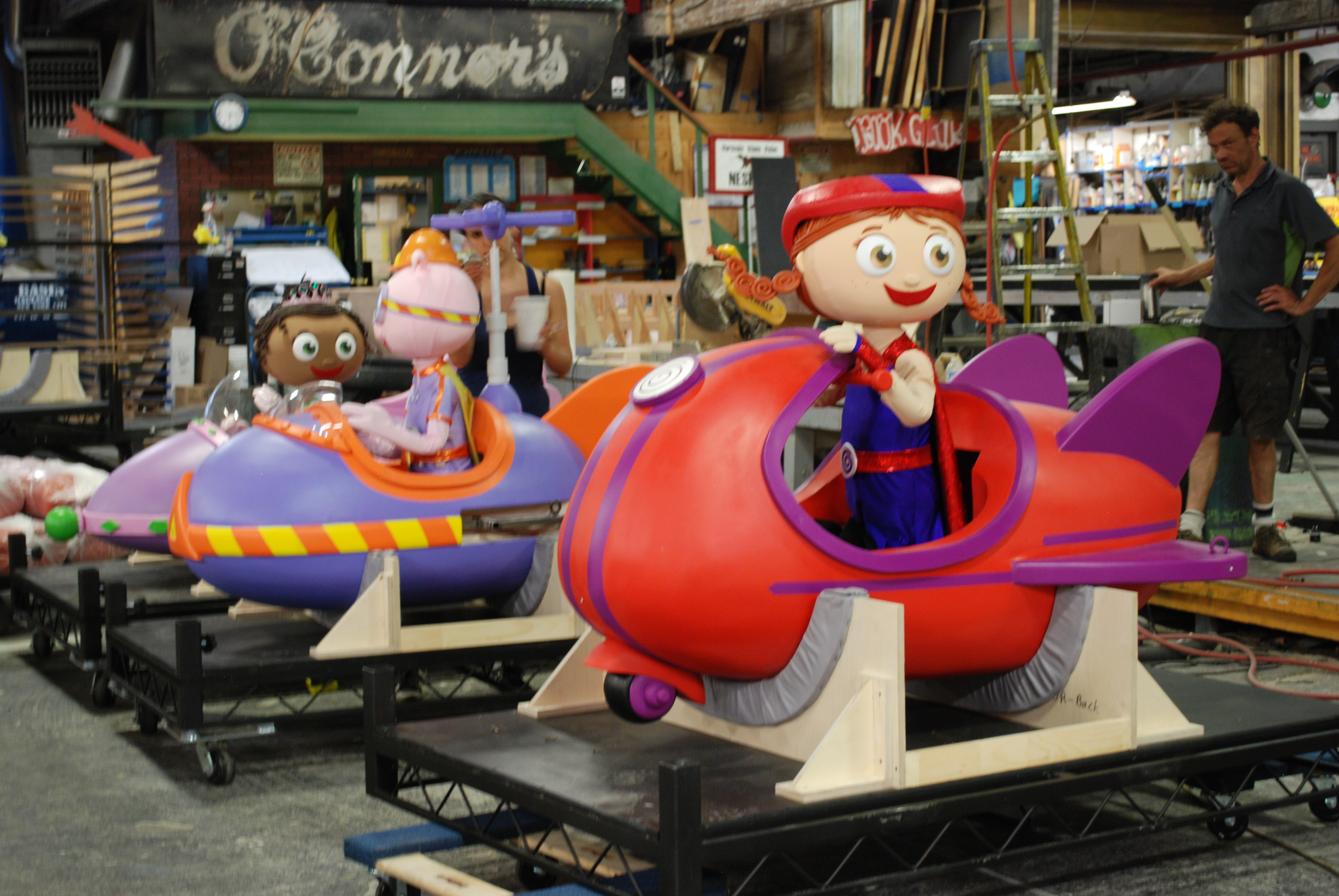 Super Why on Show Production Services