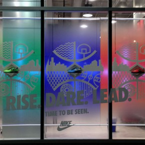 Nike Window Display